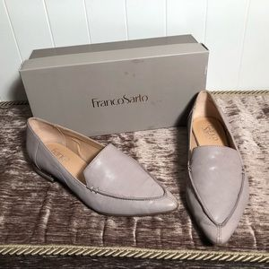 Franco Sarto Starland Loafers Flats Shoes Steel 7